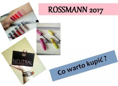 Promocja -49% / -55% na kosmetyki do makijażu | Rossmann 2017 - Kanooshi