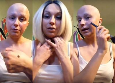 #64 Vlogerka chora na raka uczy, jak się malować po chemii | Kanooshi