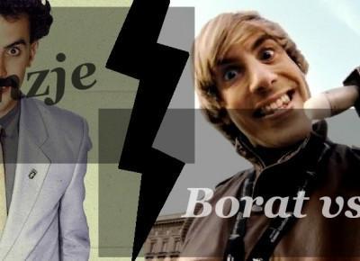 BORAT VS BRUNO
