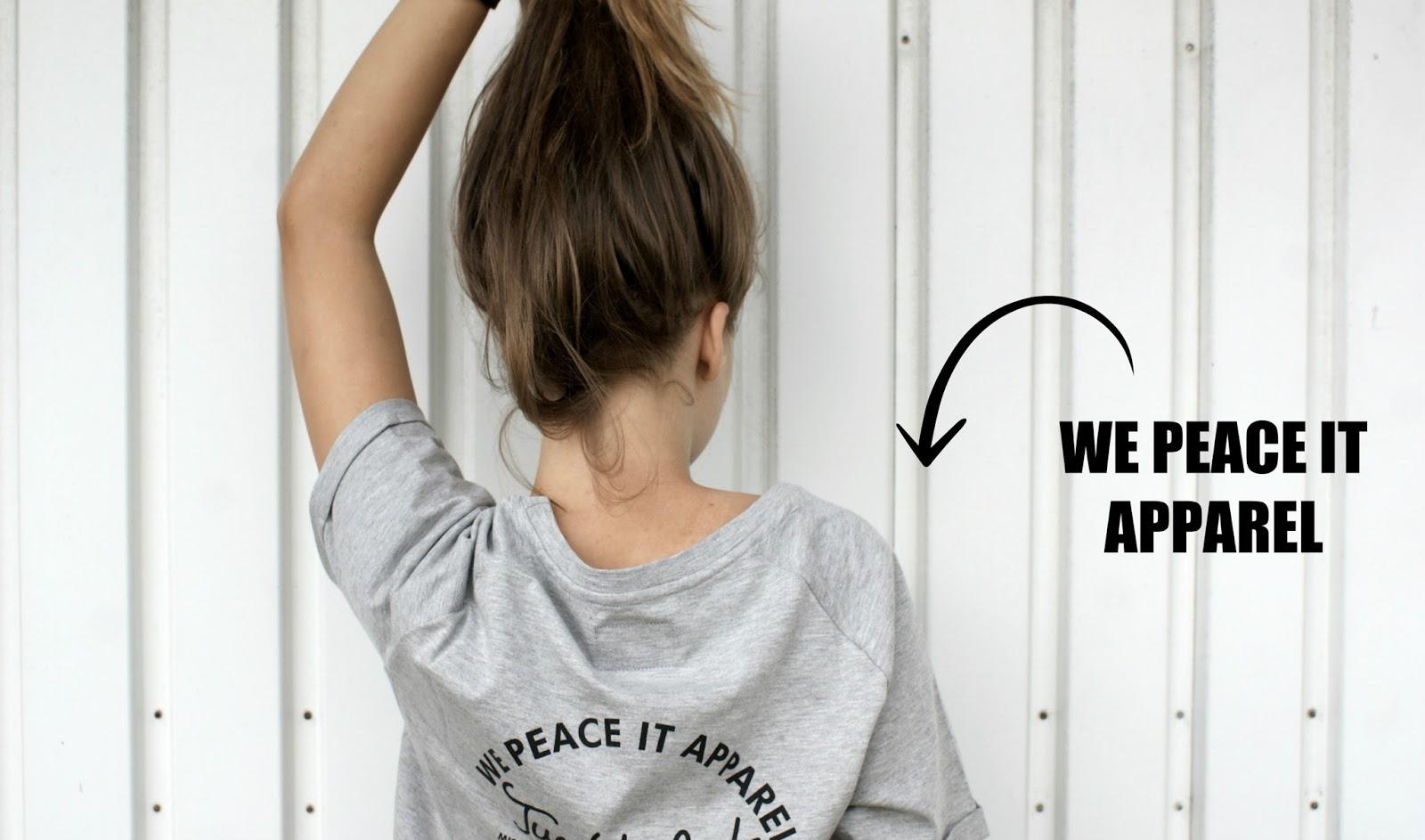 KARINA MUCHA: WE PEACE IT T-SHIRT