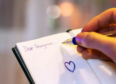 List miłosny... do siebie!