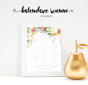 Piękne kalendarze ścienne 2016 do druku #2 {wszystkie do pobrania za darmo!}        |         Pasje Karoliny | w poszukiwaniu piękna