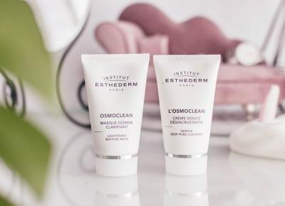Dwa zachwycające kosmetyki, które warto poznać! {OSMOCLEAN Gentle Deep Pore Cleanser i Lightening Buffing Mask}