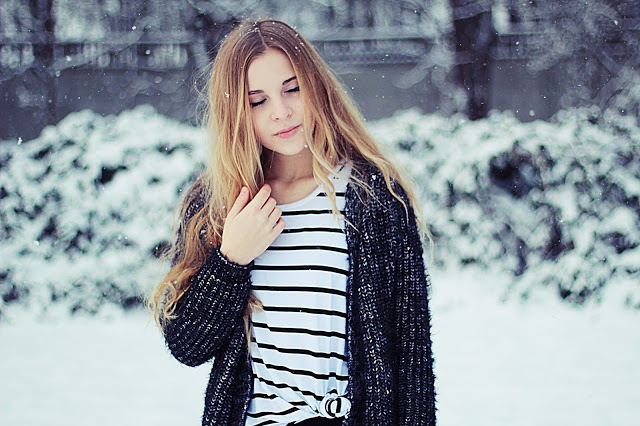Karolina Walicht: it's snowing!