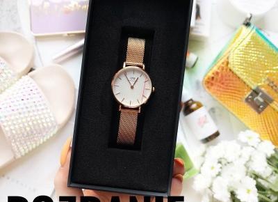 Zapraszam na rozdanie z zegarkiem DW ❤️
