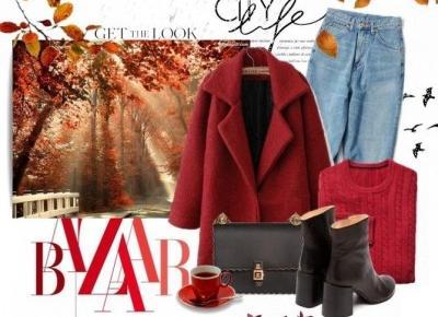 Jesienna stylizacja | Torebka Fendi | Czerwień  - Life is my inspiration by Karolina Zygmunt