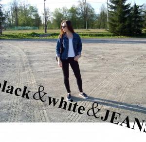Jeans jacket - mów mi Kasia