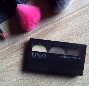 KOBO - eyebrow stylist set / recenzja - mów mi Kasia
