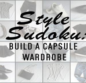 Modowe sudoku | garderoba w pigułce- mów mi Kasia