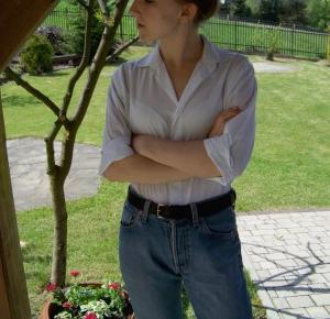Codzienna wersja białej koszuli  - mów mi Kasia