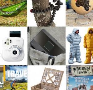 30 najlepszych prezentów dla podróżnika 2015