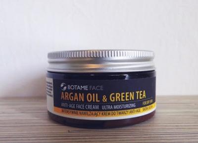 Kasiak Dominika: BOTAME FACE - ARGAN OIL & GREEN TEA
