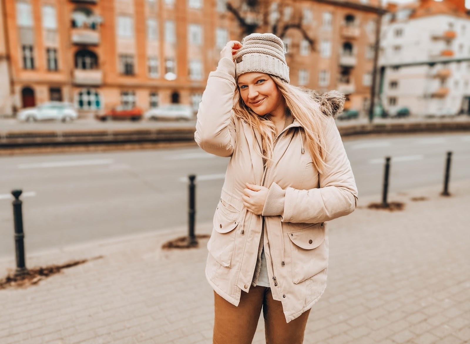 Dziewczyny lubią brąz - stylizacja z kurtką Bonprix