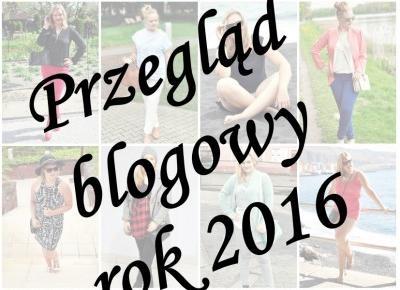 Co zdarzył'o się™ w 2016 na blogu