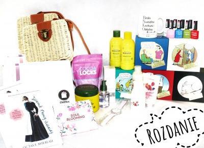 Wiklinowa torebka, zestaw kosmetyków - konkurs na insta