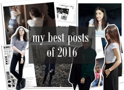 My BEST posts of 2016 - mów mi Kasia
