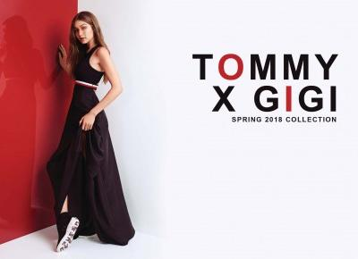 TOMMY X GIGI SPRING 2018 COLLECTION