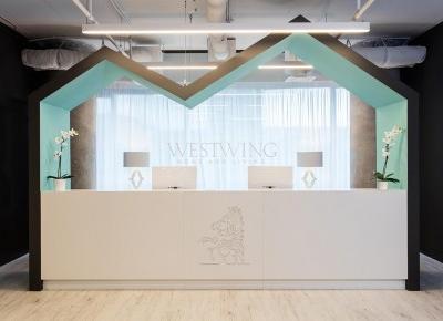 Nowoczesne i piękne wnętrza biura Westwing Home & Living