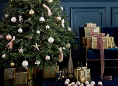 Choinki i świąteczne oświetlenie- trendy Bożonarodzeniowe 2018