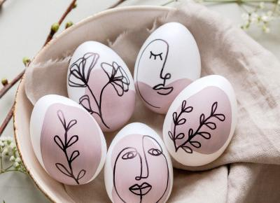 10 pomysłów na Wielkanocne pisanki 2020 - Houseofdesign