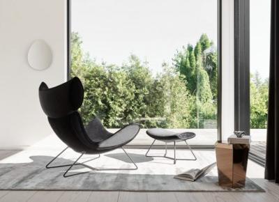 10 LAT IKONY DESIGNU BoConcept limitowana edycja fotela Imola