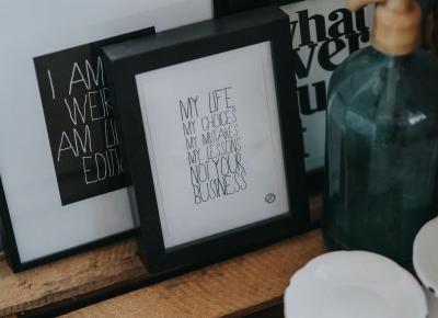 #34. Nigdy nie będę czarno-biała, czyli podsumowanie marca – SFERA ROZWOJU