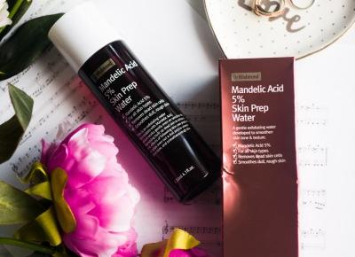By Wishtrend Mandelic Acid 5% Skin Prep Water | KHERBLOG | All about korean & natural beauty with a dose of lifestyle