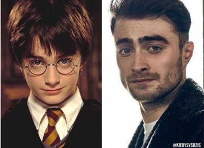 Jak zmienił się Harry Potter / Daniel Radcliffe?