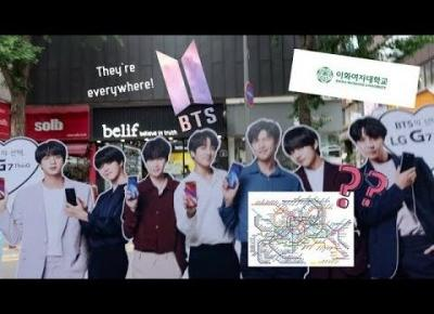 K-BEAUTY  |  SEOUL SUBWAY &EWHA UNI.