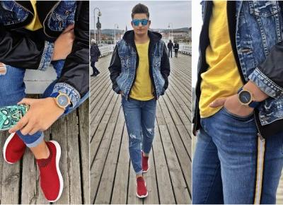 Nadmorski look | Jeans style - King Of Temptations