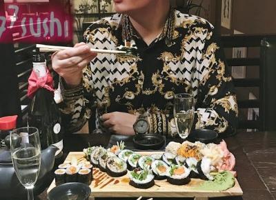 Sushi w domu? Kto by to robił, wybrałem się do Sushi — Mastera | Z wizytą w japońskiej restauracji Sushi77 - King Of Temptations