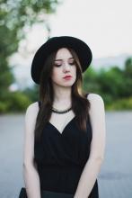 Black playsuit | Kowalska Kinga