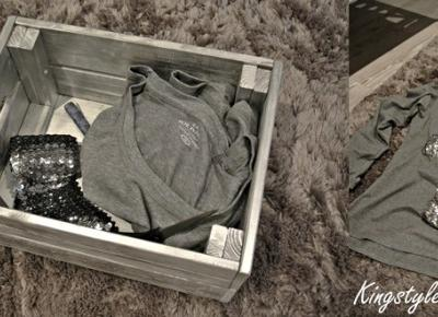 Kingstyle ღ: 54ღ.Dark Grey Blouse With Sequins