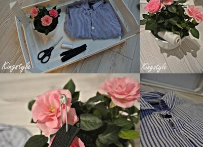 Kingstyle ღ: 65ღ. My Proposition On Modification Old Shirt In Famous Trend