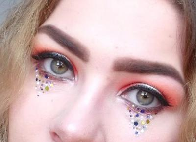 In makeup world . . . : Festiwalowy look