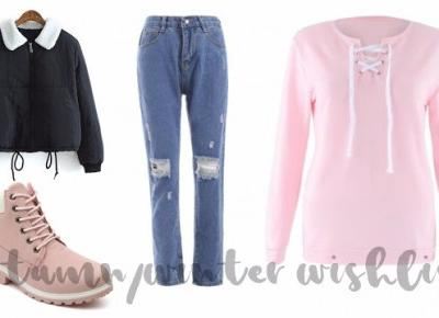 written with flowers blog: AUTUMN/WINTER ROSEGAL WISHLIST l OUTFIT IDEA