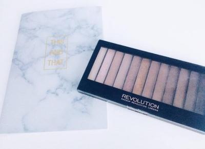 written with flowers blog: MAKEUP REVOLUTION ICONIC 3 PALETTE
