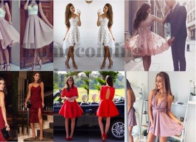 written with flowers blog: HOMECOMING DRESSES