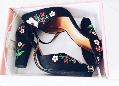 written with flowers blog: DRESSLILY l FLOWERY SHOES l PROM & PARTY SHOES