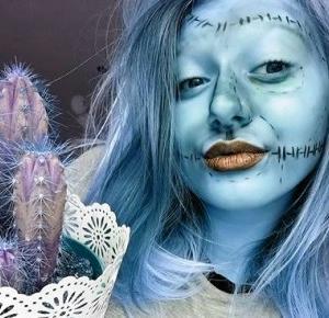 Klaudia Modelska: HALLOWEEN MAKE-UP