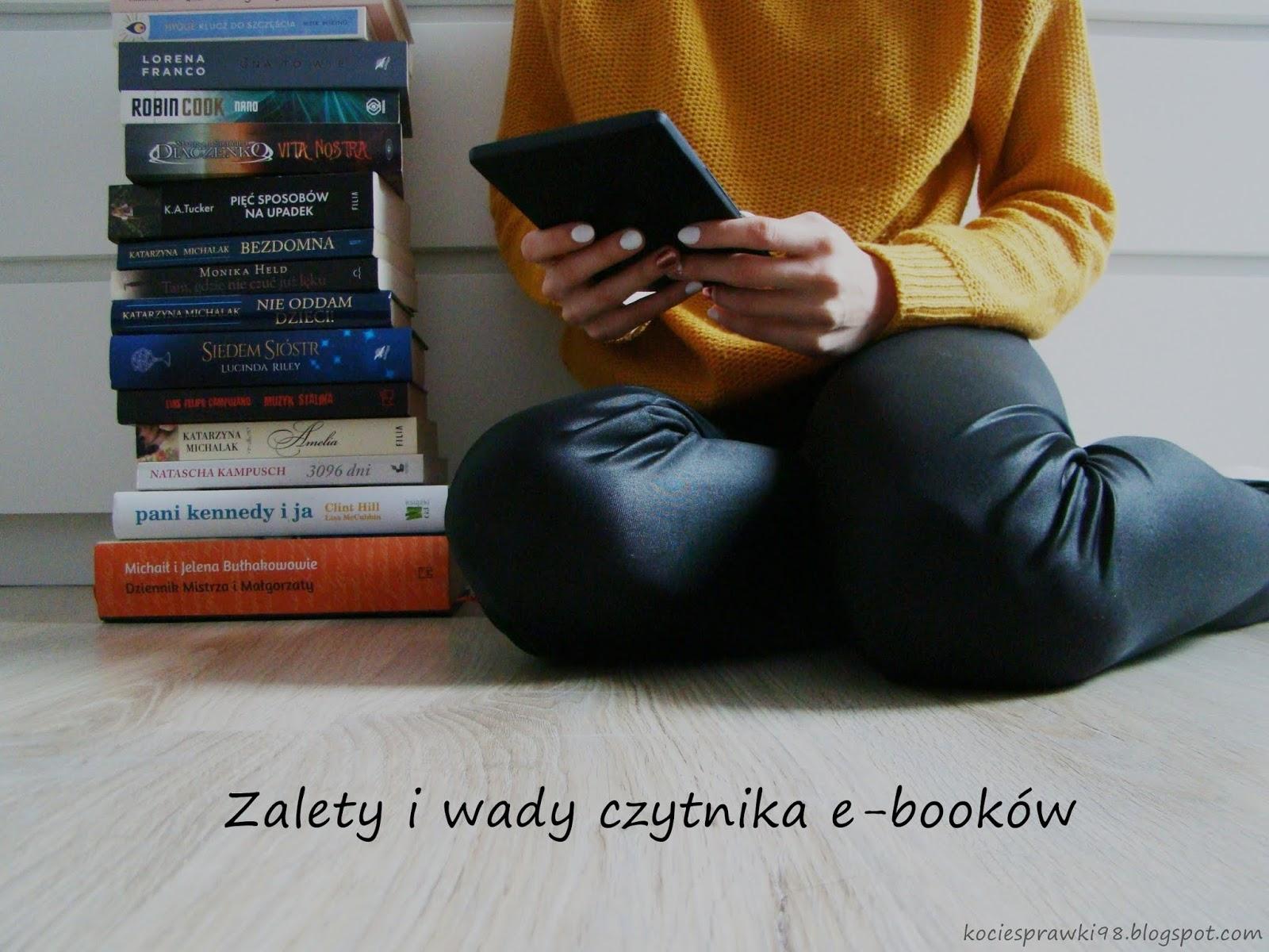 Koci punkt widzenia: Wady i zalety czytnika e-booków