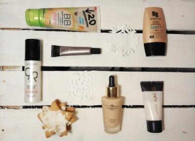 Koci punkt widzenia: Przegląd kosmetyków do makijażu: bazy, krem BB, podkłady, korektor