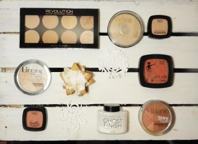 Koci punkt widzenia: Przegląd kosmetyków do makijażu: pudry, róże, bronzery, rozświetlacze