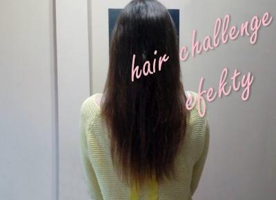Koci punkt widzenia: Hair Challenge - efekty po dwóch miesiącach