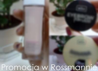 Koci punkt widzenia: -55% w Rossmannie | Wibo, Maybelline