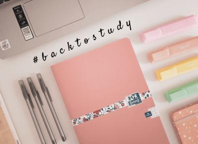 Koci punkt widzenia: #backtostudy   zakupy, plan nauki, piorytety