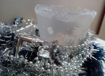 Koci punkt widzenia: Świąteczny stroik DIY