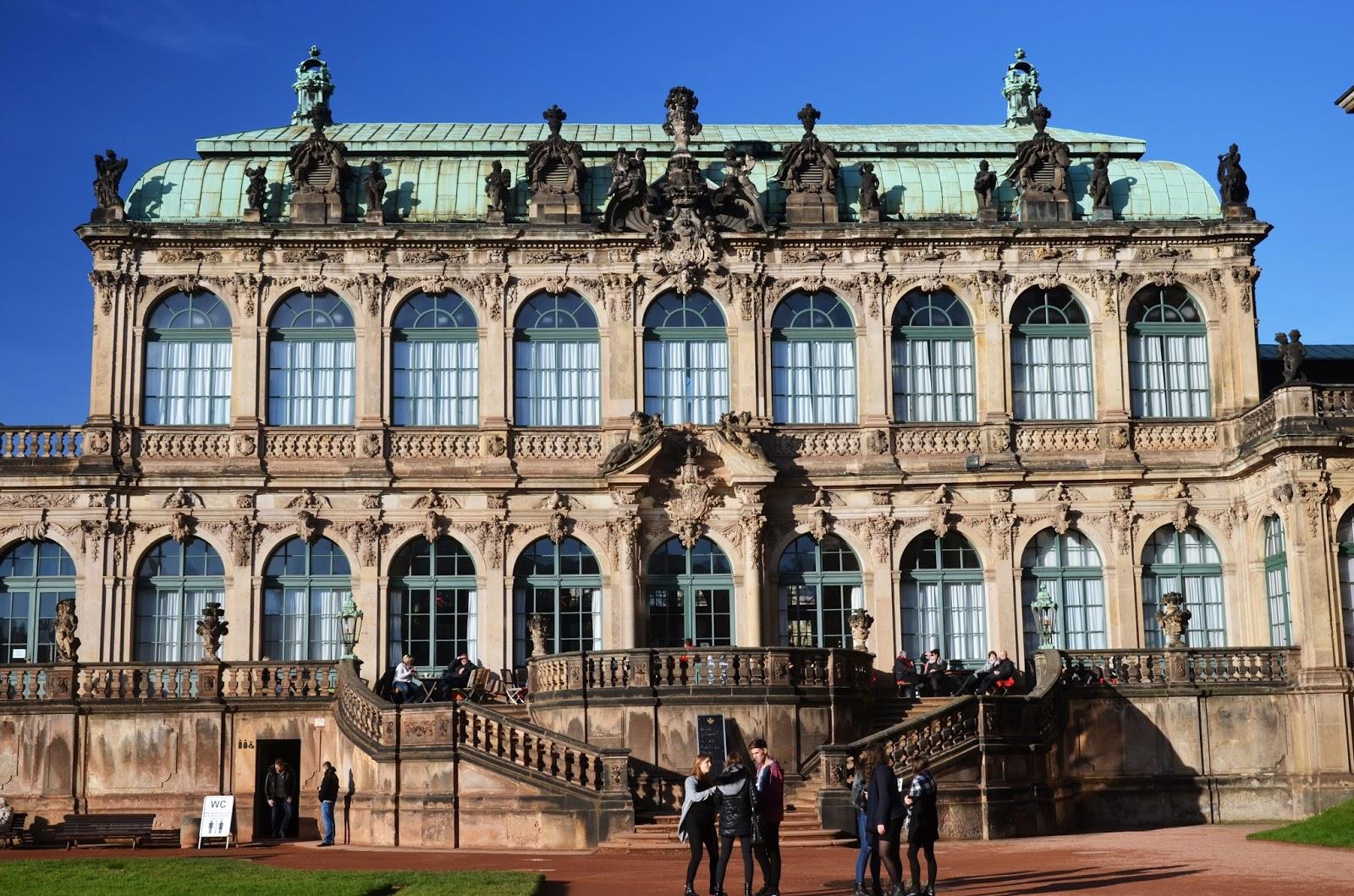 Drezno, Pałac Zwinger - fotorelacja cz.1
