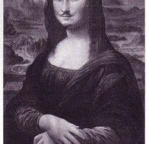 .: Dlaczego Mona Lisa miała wąsy? Psikusy Marcela Duchampa