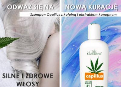 Kuracja Capillus szampon przeciw wypadaniu włosów z kofeiną